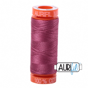 Aurifil 50 Cotton Thread - 2450 (Rose)